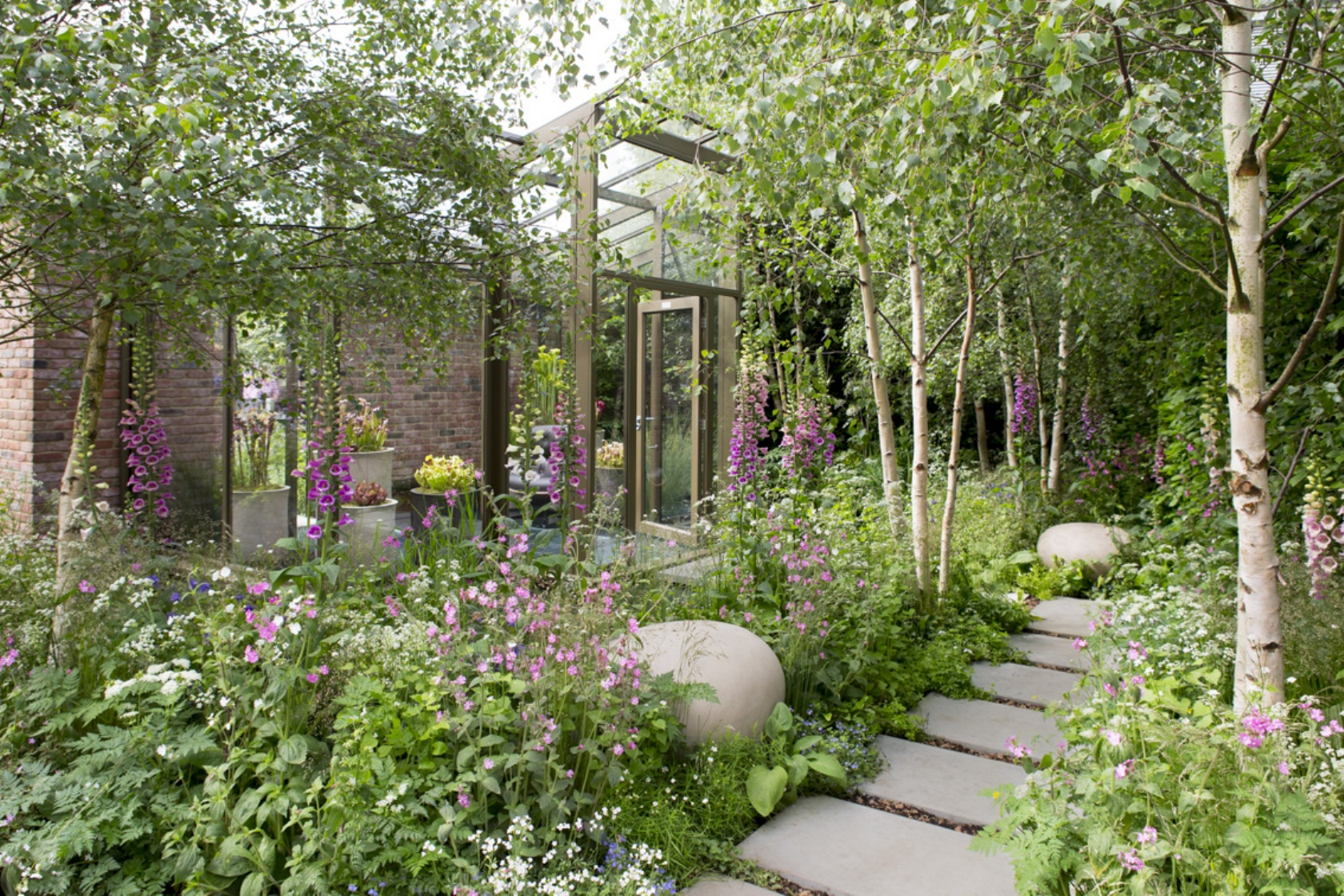 The Hartley Botanic Garden at Chelsea Flower Show