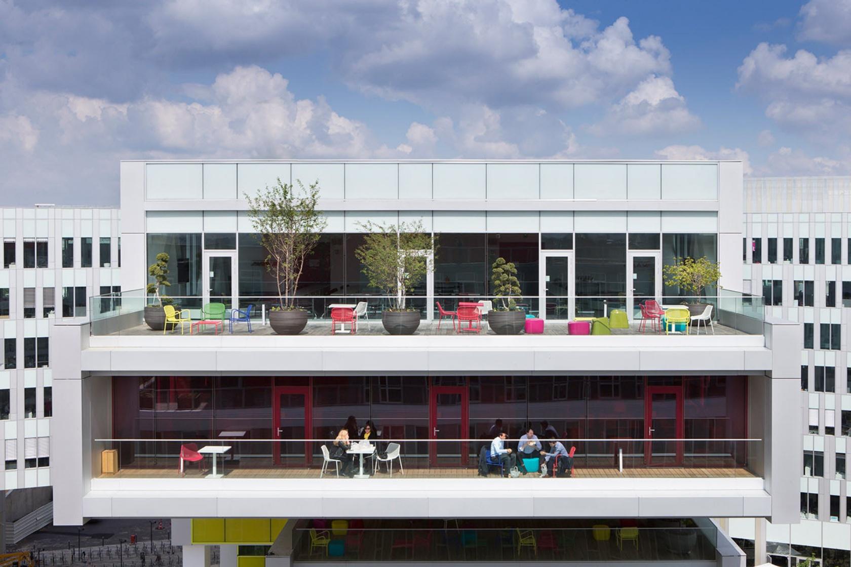 Campus SFR - Jean-Paul Viguier & Associés